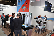 [Translate to nl:] Impressionen LogiMAT 2019